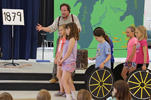 Wolverine Will Michigan History Assembly Show