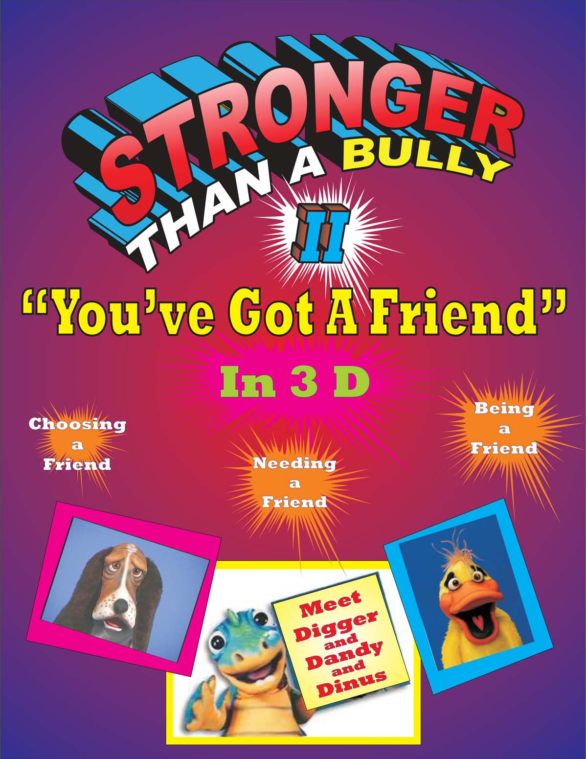 anti bullying school show
