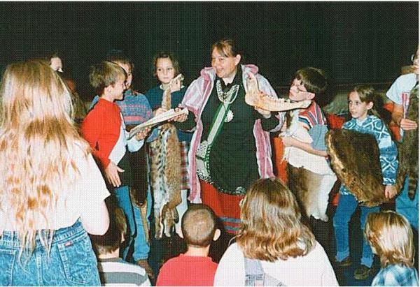 native american school show