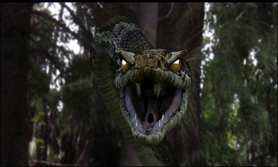 scary school assembly snake
