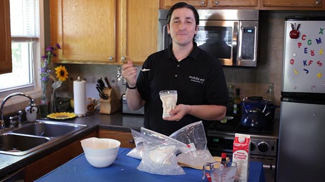 Enjoy your home made ice cream!  Mmm mmm MMM!!