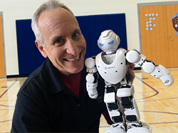 David Jack Robot School Assembly Mobile Ed Productions