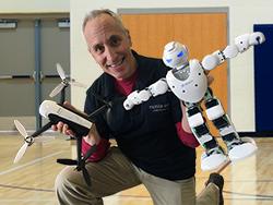 David Jack Robot School Assembly Program Mobile Ed