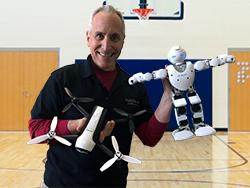 David Jack robotics STEAM school assembly Mobile Ed Productions