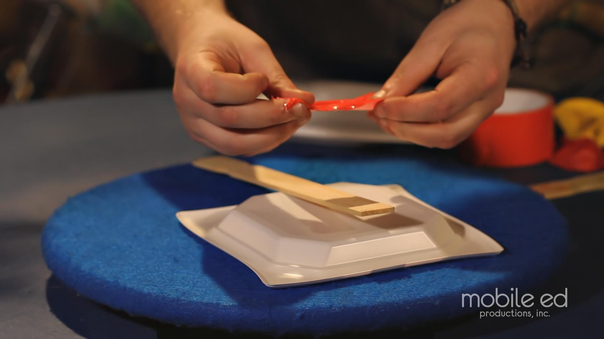 Make the paddles | Handy Dan the Junkyard Man | Mobile Ed Productions