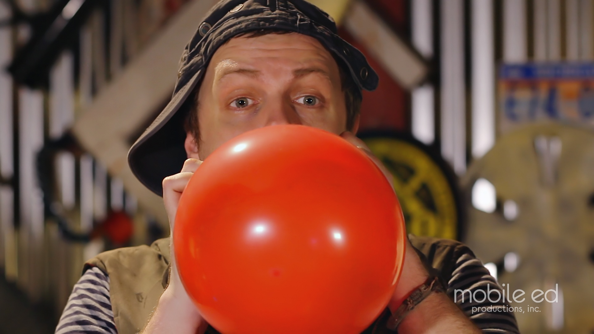 Make the Ball | Handy Dan the Junkyard Man | Mobile Ed Productions
