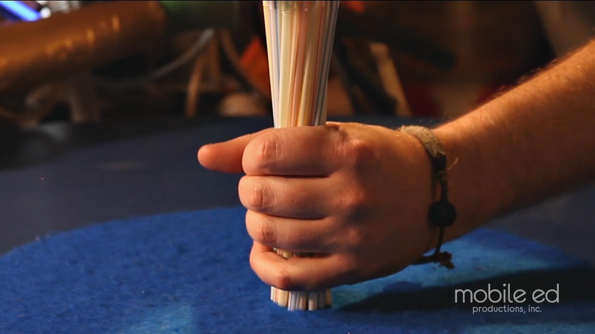 Gather the straws | Handy Dan the Junkyard Man | Mobile Ed Productions