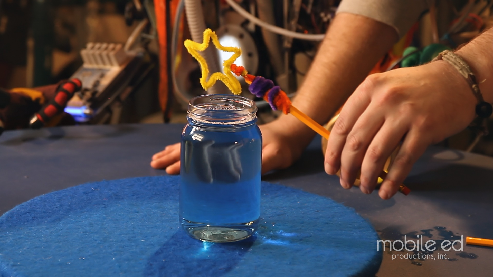 Get ready to blow bubbles | Handy Dan the Junkyard Man | Mobile Ed Productions
