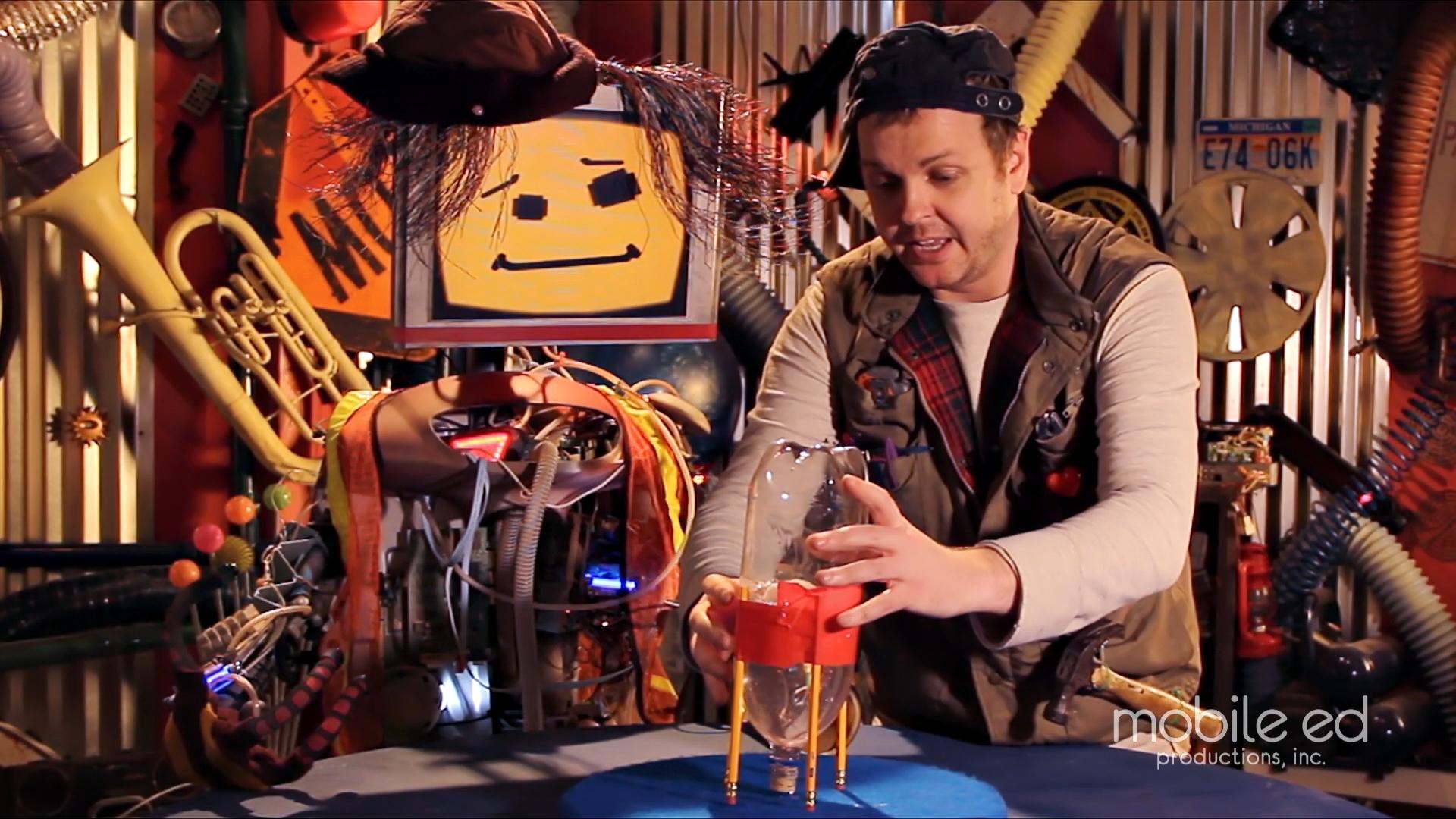 Build your own rocket - turn the rocket upside down  |  Handy Dan the Junkyard Man