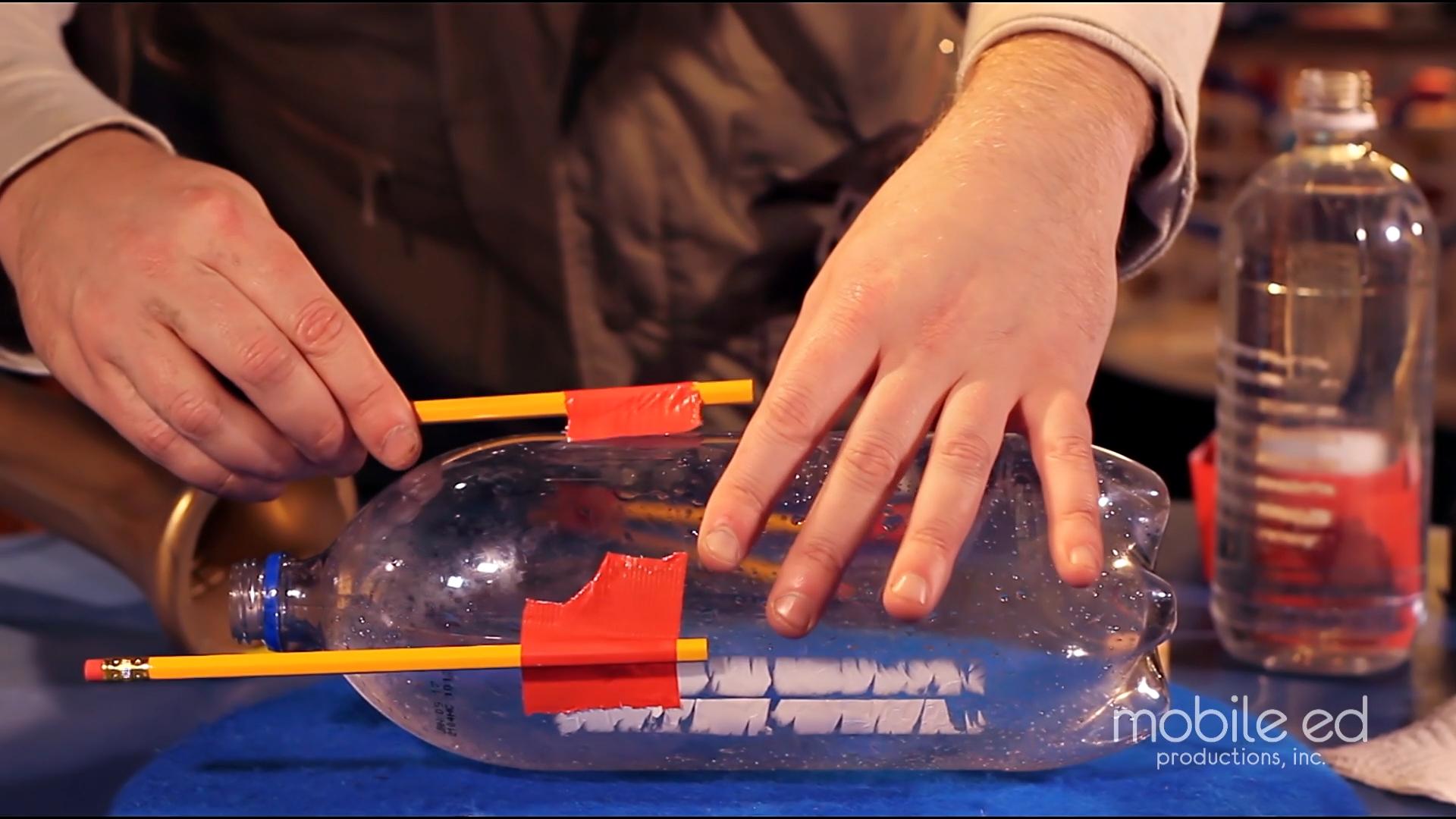 Build your own rocket - add the legs  |  Handy Dan the Junkyard Man