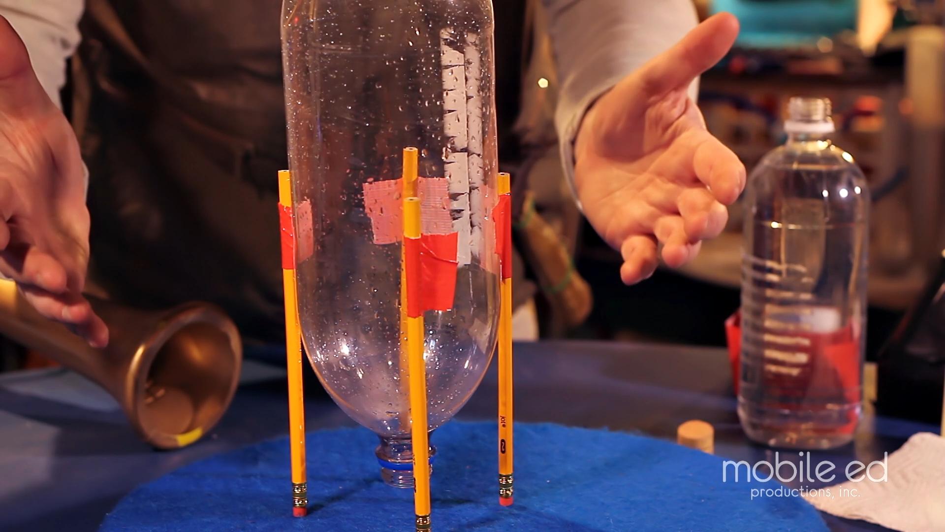 Build your own rocket - secure the legs  |  Handy Dan the Junkyard Man