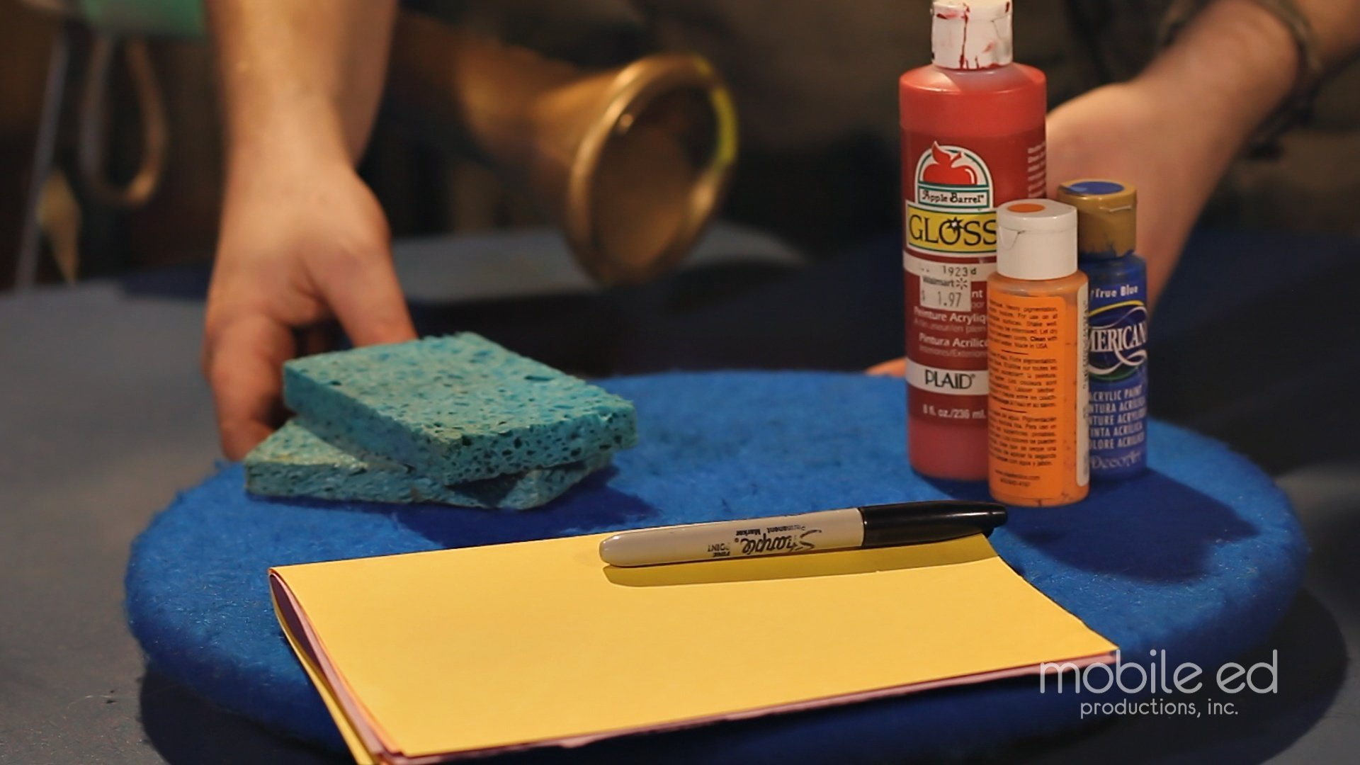 Gather Your Art Supplies | Handy Dan the Junkyard Man | Mobile Ed Productions