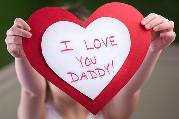"""Make Dad a card!  And it doesn't just have to say """"I love you"""" - what special memories do you have with your dad?"""