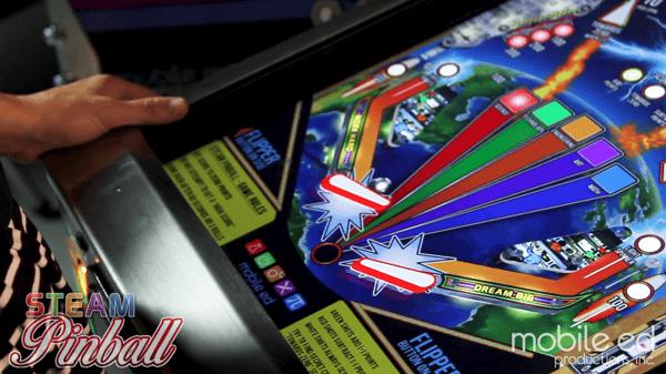 STEAM Pinball educational pinball machine is a realistic physics simulation