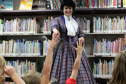 History comes alive with the Women in History school assembly show