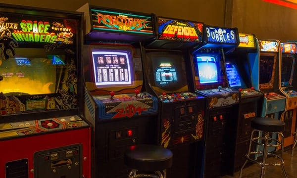 Let Dad show you all of his favorite arcade games!